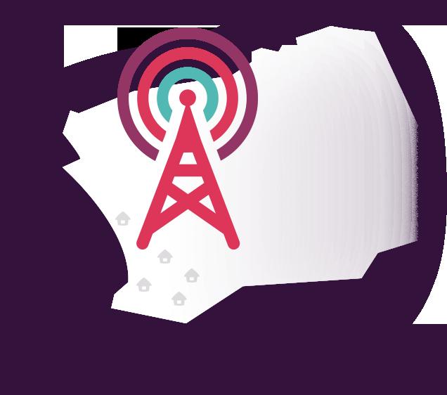 Fixed Wireless Icon